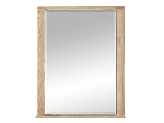 NEW YORK Spiegel 74x93 cm, Material Teilmassiv, Wildeiche biancofarbig  DETAIL_IMAGE