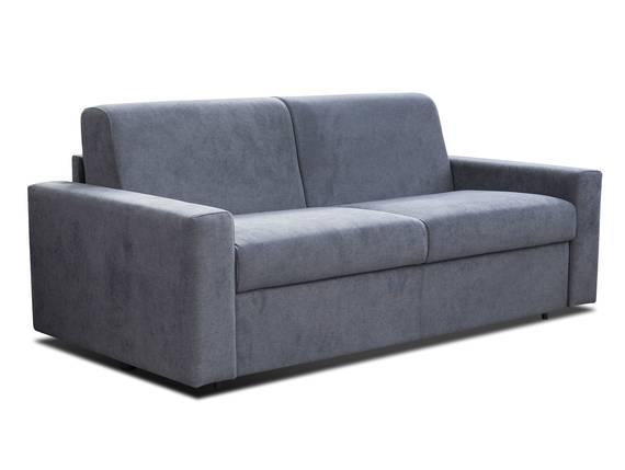 LORCON 3-Sitzer Schlafsofa mit vollwertiger Matratze, mit Stoffbezug anthrazit DETAIL_IMAGE