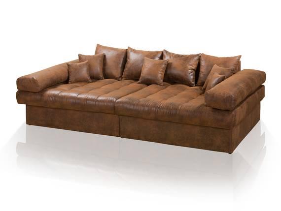 NIRI Big Sofa Bezug Microvelours Gobi  braun  DETAIL_IMAGE