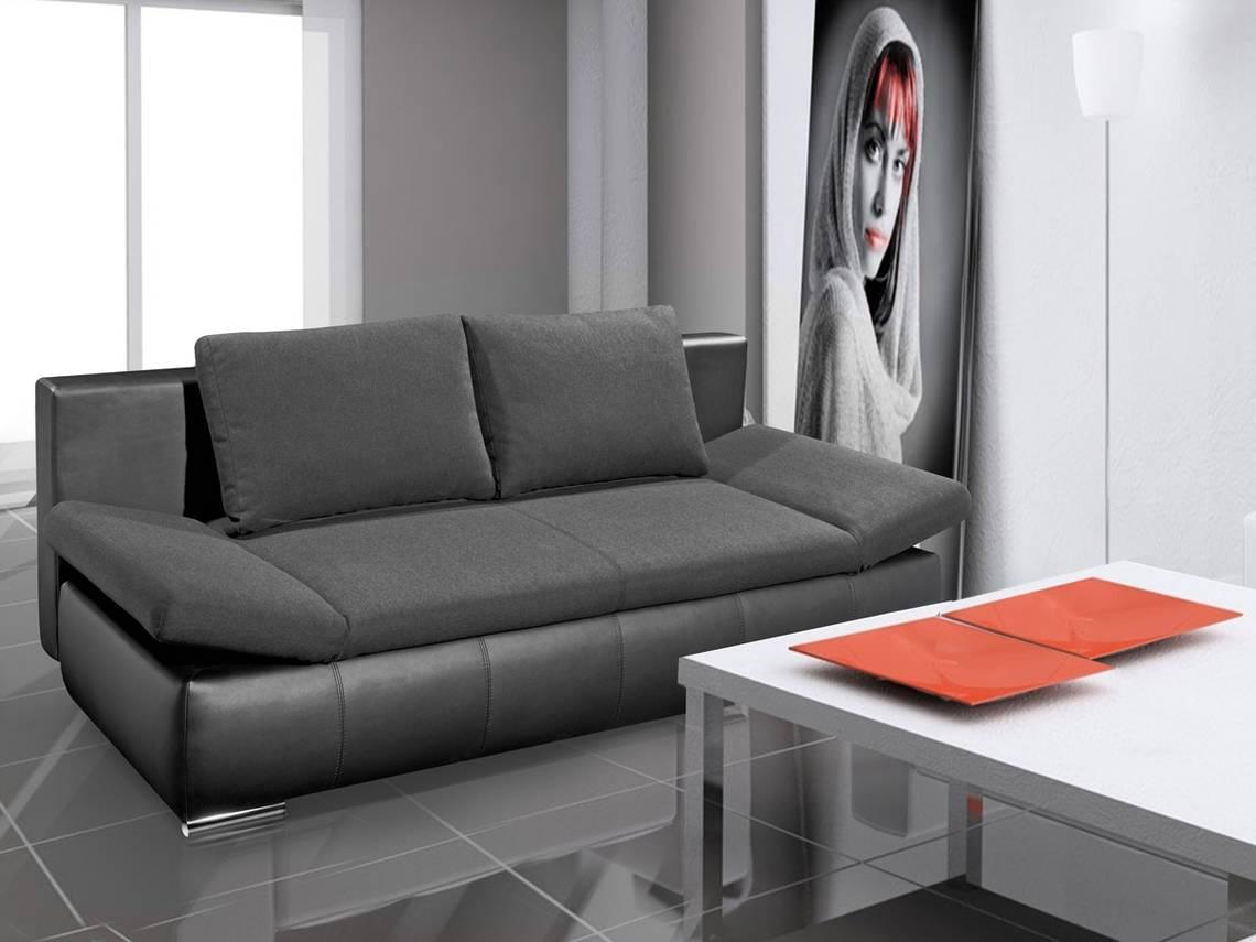 oran schlafsofa jugendsofa sofa schwarz. Black Bedroom Furniture Sets. Home Design Ideas