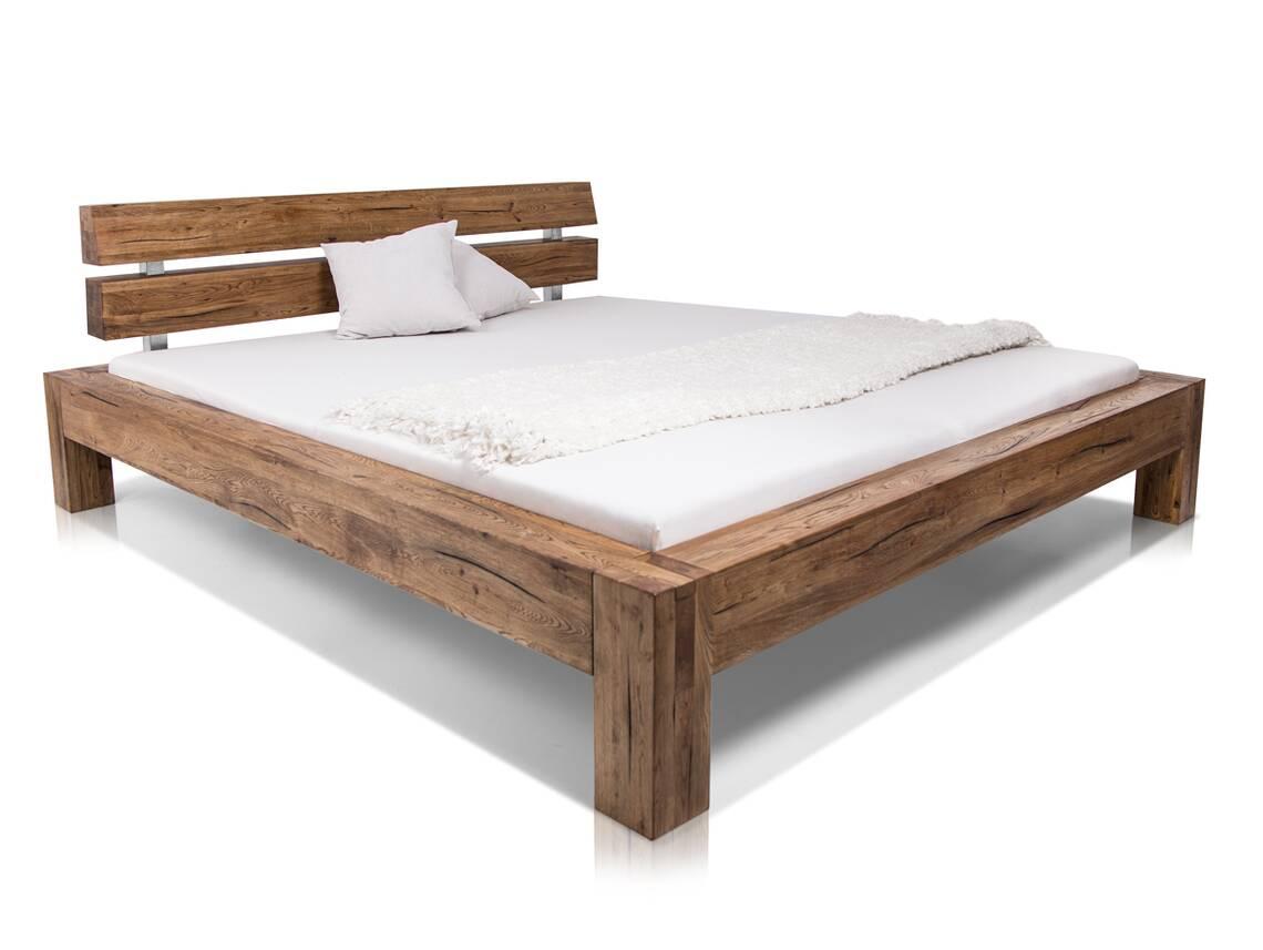 ortega massivholzbett eiche ge lt 180 x 200 cm. Black Bedroom Furniture Sets. Home Design Ideas