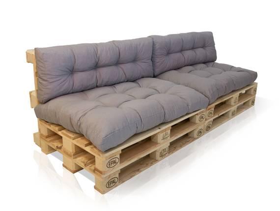 PALETTI II 2-Sitzer Sofa Fichte natur/Kissen grau  DETAIL_IMAGE