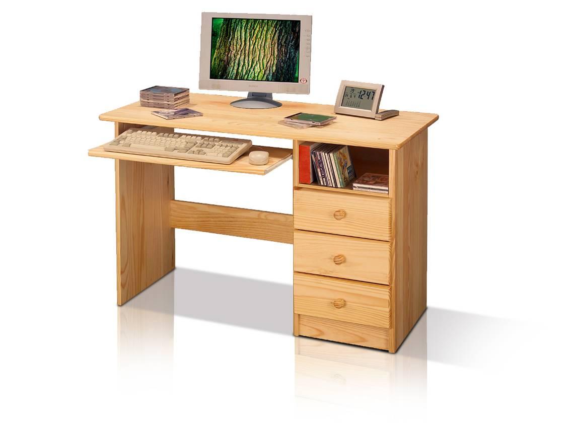 pc schreibtisch kinderschreibtisch kiefer 8844. Black Bedroom Furniture Sets. Home Design Ideas