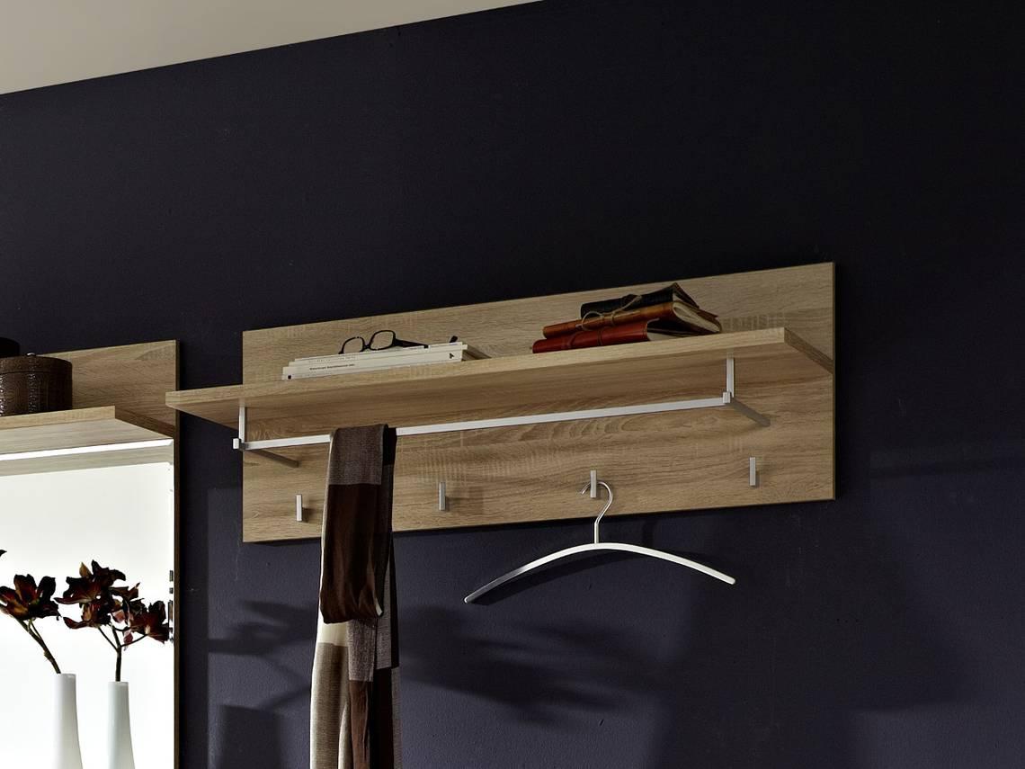 punkt garderobenpaneel klein sonoma eiche hell. Black Bedroom Furniture Sets. Home Design Ideas