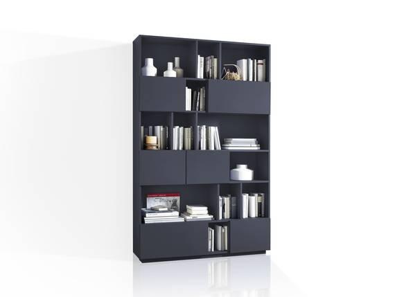 RAMIRO Regal / Raumteiler, Breite 120 cm, Material MDF anthrazit DETAIL_IMAGE