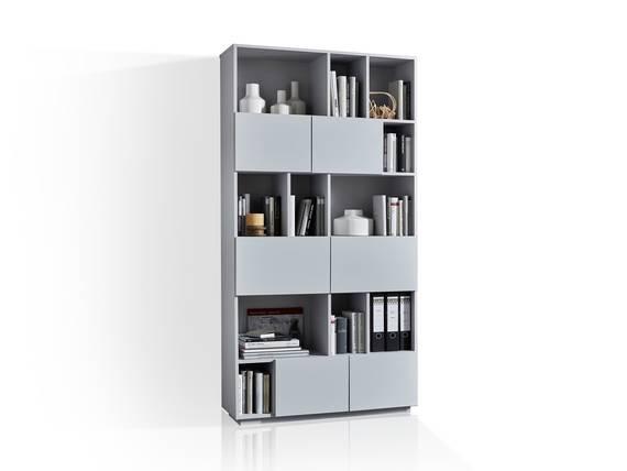 RAMIRO Regal/Raumteiler Breite 100 cm, Material MDF grau DETAIL_IMAGE