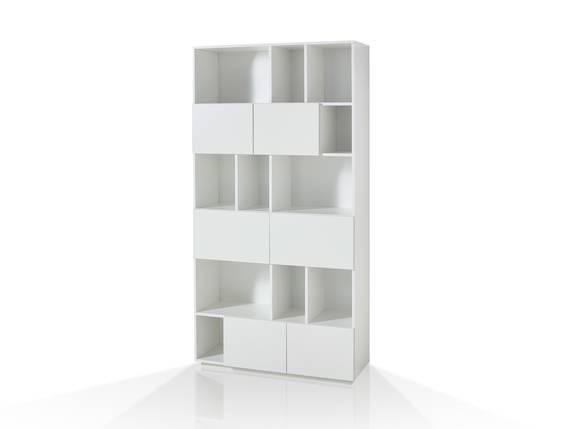 RAMIRO Regal/Raumteiler Breite 100 cm, Material MDF weiss DETAIL_IMAGE