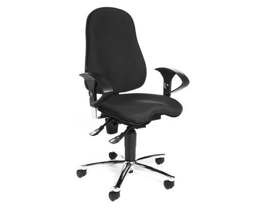 SITNESS 10 Drehstuhl, Material Stoff/Kunststoff, schwarz  DETAIL_IMAGE
