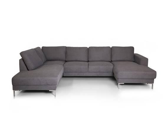SOYO Ecksofa/U-Sofa Stoffbezug grau  DETAIL_IMAGE