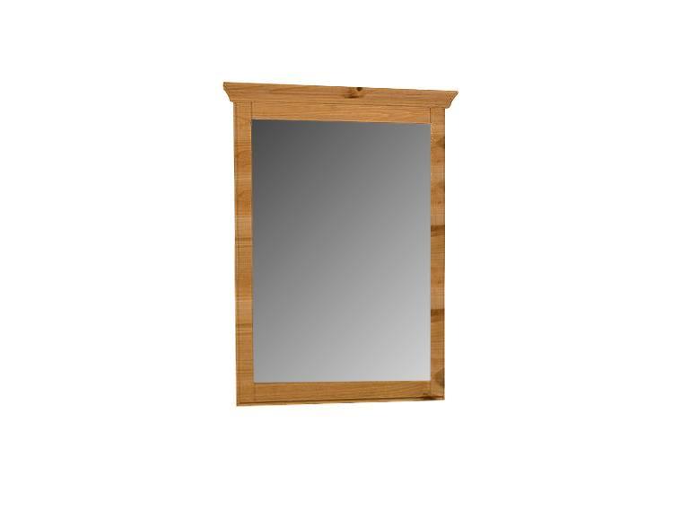 Richard ii spiegel kiefer massiv 100x100 cm kiefer honig for Spiegel lang