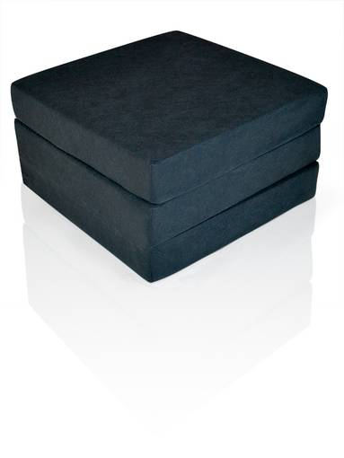SLEEP Luxus Faltmatratze für Erwachsene in schwarz Komforthöhe 12 cm  DETAIL_IMAGE