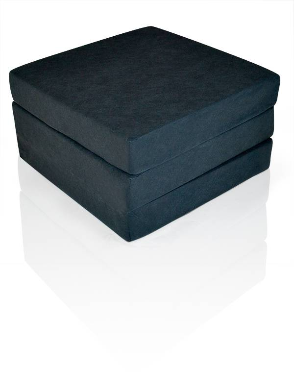 swing luxus faltmatratze f r erwachsene in schwarz komforth he 12 cm. Black Bedroom Furniture Sets. Home Design Ideas