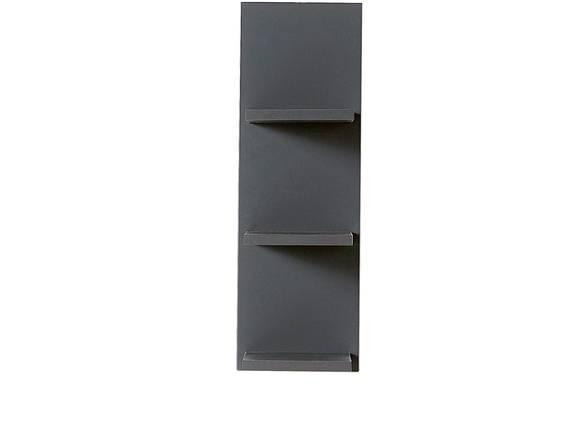 TEMIDO Wandregal, Material Dekorspanplatte anthrazit DETAIL_IMAGE