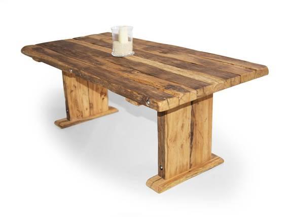 WIKINGER Kulissentisch / Massivholzesstisch, Material Massivholz, Asteiche 180 x 100 cm | geölt DETAIL_IMAGE