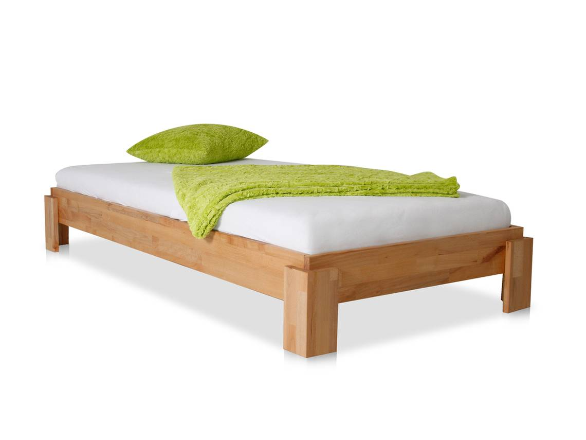 turm stapelbett massivholzbett 90x200 cm eiche ge lt. Black Bedroom Furniture Sets. Home Design Ideas