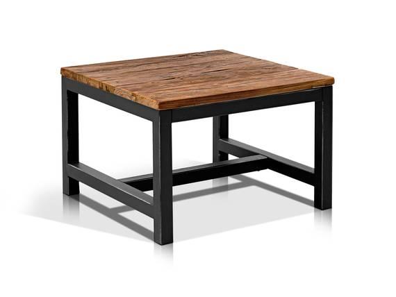 vally couchtisch ulme stahl 60 x 60 cm. Black Bedroom Furniture Sets. Home Design Ideas