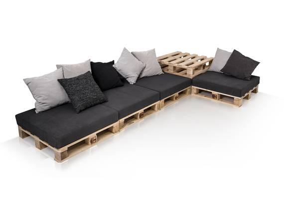 PALETTI Sofalandschaft II Sofa aus Paletten Fichte massiv Fichte natur DETAIL_IMAGE