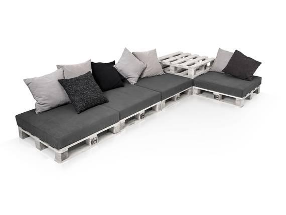 PALETTI Sofalandschaft II Sofa aus Paletten Fichte massiv Fichte weiss DETAIL_IMAGE