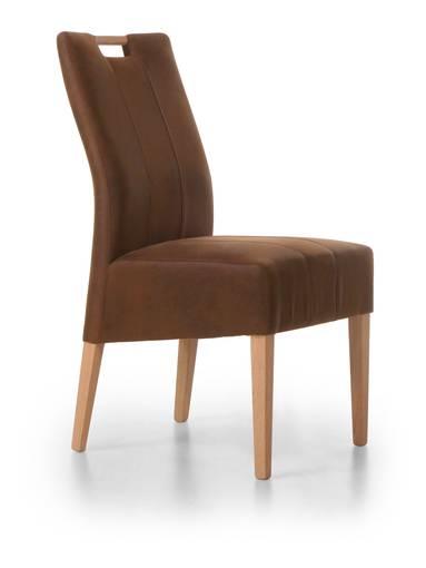 venia stuhl polsterstuhl in vielen ausf hrungen eiche natur barock braun. Black Bedroom Furniture Sets. Home Design Ideas