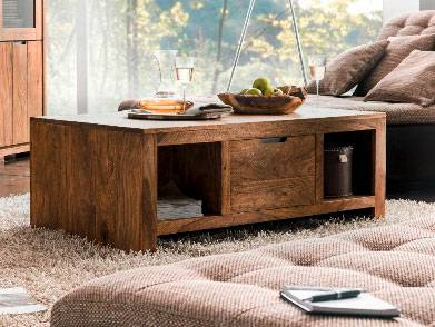 WHITNEY Mountain Couchtisch, Material Massivholz, sheesham gebeizt  DETAIL_IMAGE