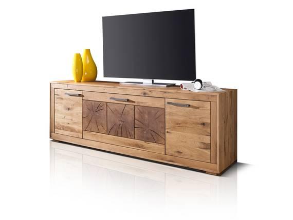 WINSTON III TV-Element, Material Massivholz, Wildeiche geölt  DETAIL_IMAGE