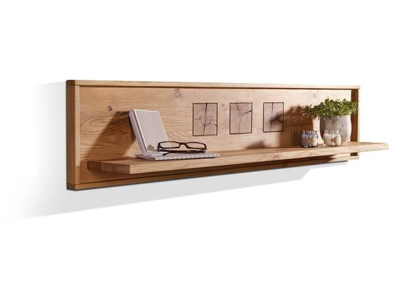 WINSTON Wandboard, Material Massivholz, Wildeiche 150 cm DETAIL_IMAGE