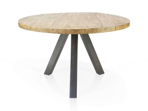 ZANTA Esstisch rund, Material Massivholz, Mangoholz 140 cm  DETAIL_IMAGE
