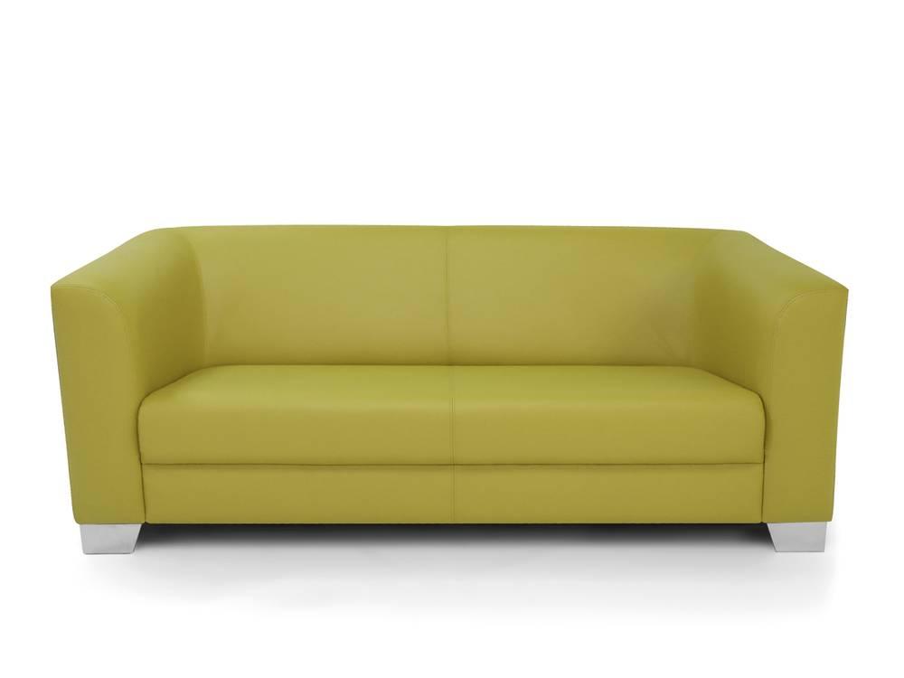 chicago 3er sofa ledersofa schwarz. Black Bedroom Furniture Sets. Home Design Ideas