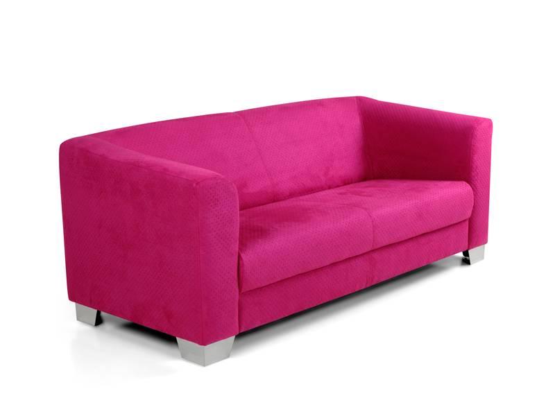 chicago 3er sofaganitur wdot u rosa. Black Bedroom Furniture Sets. Home Design Ideas