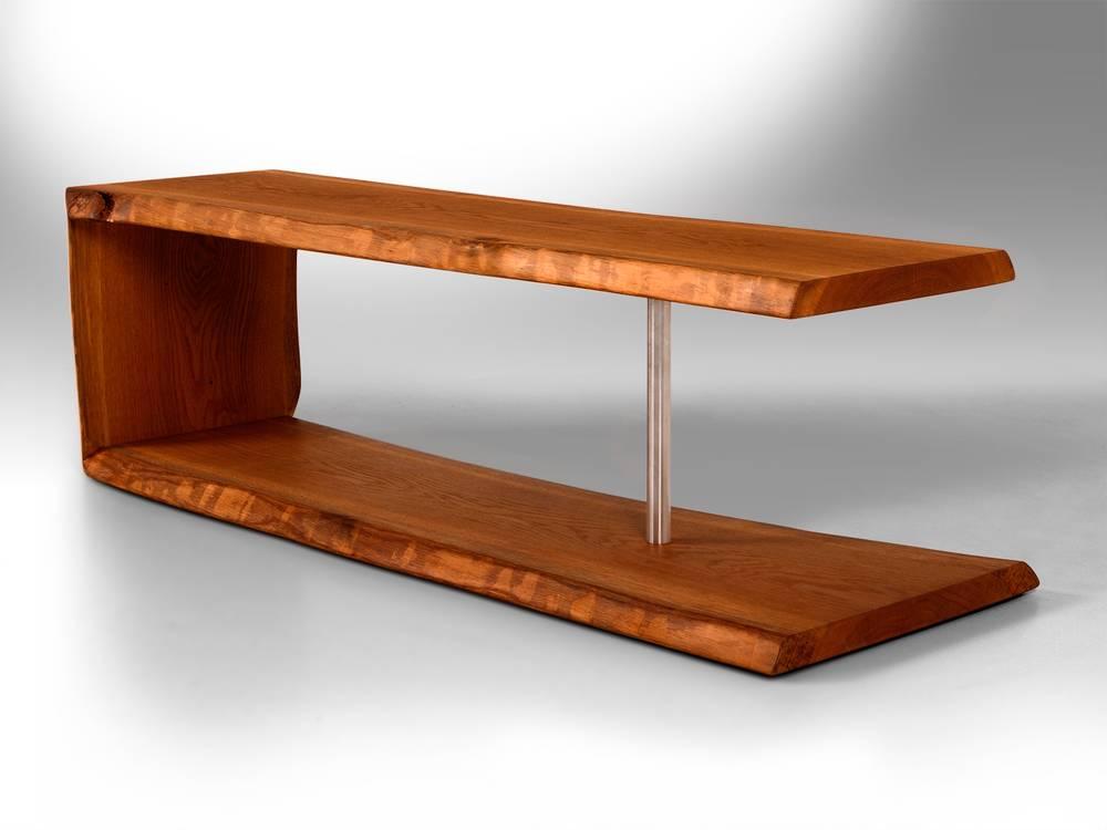 83 wohnzimmertisch balken balken eichen tisch voll massiv 220 100 cm couchtisch. Black Bedroom Furniture Sets. Home Design Ideas