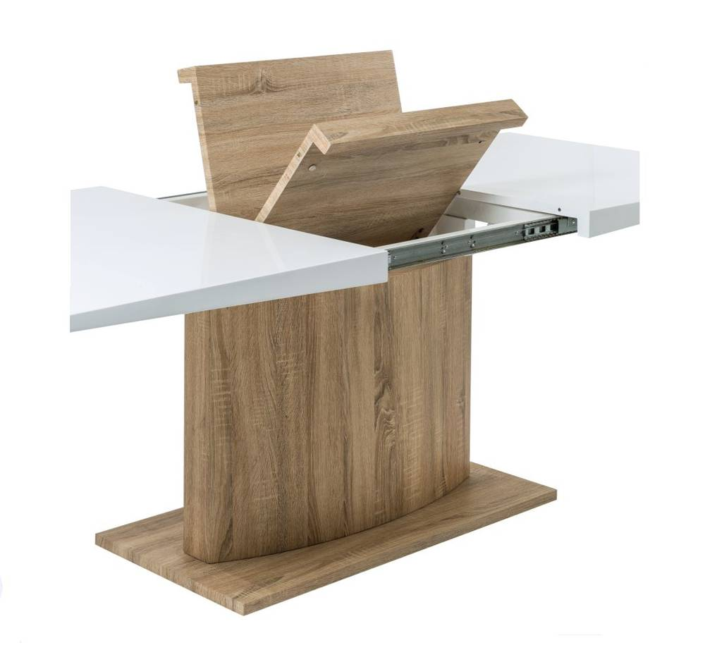 Fehler for Table extensible blanc et bois