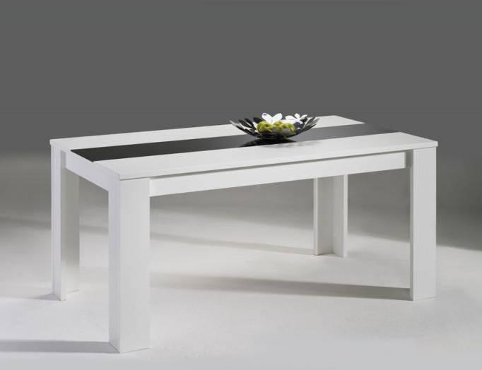 damian esstisch esszimmertisch mit glaseinlage. Black Bedroom Furniture Sets. Home Design Ideas