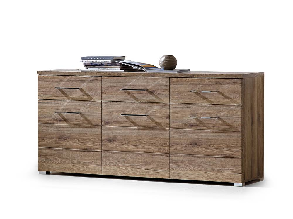 diego sideboard san remo eiche schiefer. Black Bedroom Furniture Sets. Home Design Ideas