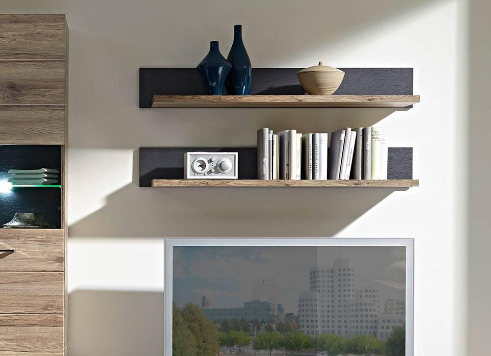 diego wandboard san remo eiche schiefer. Black Bedroom Furniture Sets. Home Design Ideas