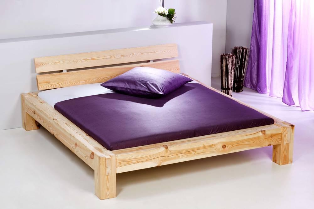 Dino doppelbett massivholzbett holzbett schlafzimmer for Bett 120x200 massivholz
