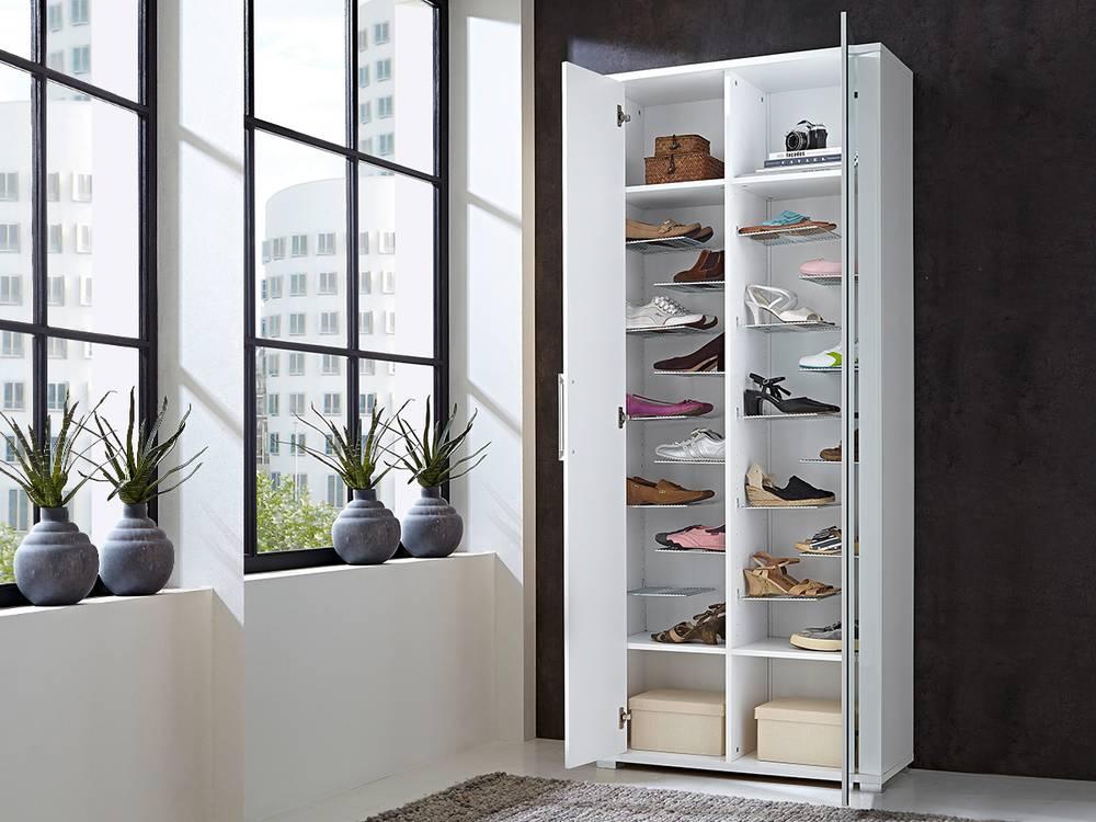finn garderobenschrank schuhschrank dielenschrank. Black Bedroom Furniture Sets. Home Design Ideas