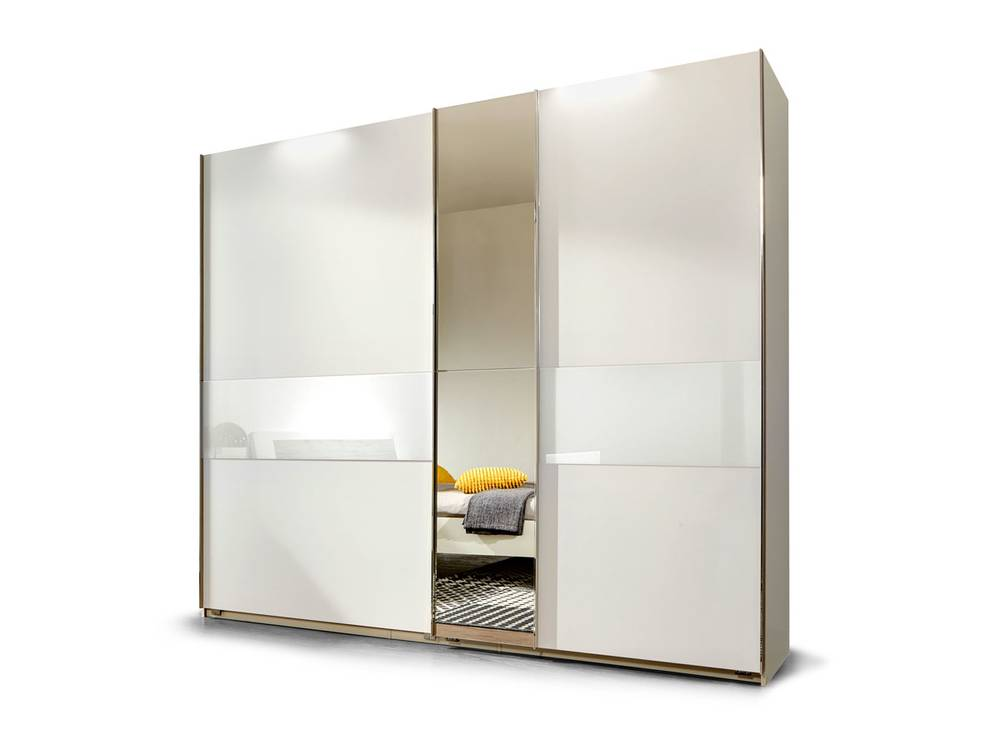 gino schwebet renschrank 200 cm weiss weiss. Black Bedroom Furniture Sets. Home Design Ideas