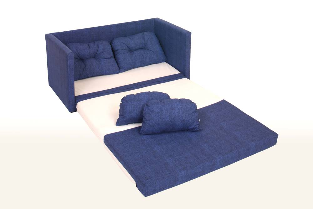 davos kindersofa schlafsofa blau. Black Bedroom Furniture Sets. Home Design Ideas