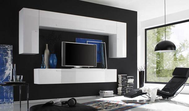 design : hängeschrank weiß wohnzimmer ~ inspirierende bilder von ...