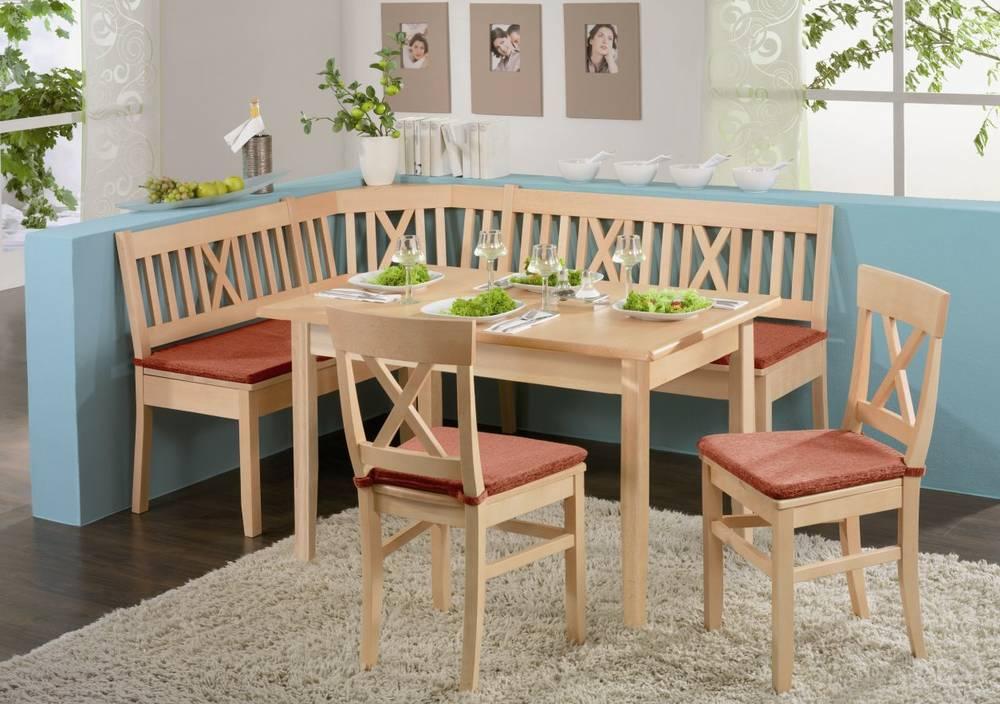 LUDWIG Massivholztisch Esstisch Tisch Esszimmer massiv Buche ...