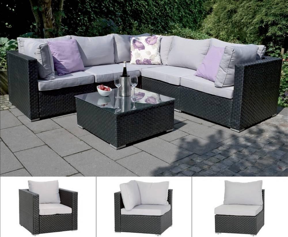 Moderne Diner Sitzgruppen : Siena Garden Mali Lounge Mittelteil Sofa ...