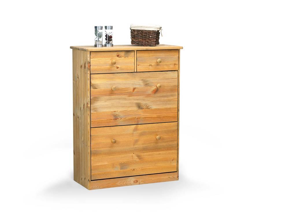 mario schuhschrank kommode gelaugt ge lt. Black Bedroom Furniture Sets. Home Design Ideas