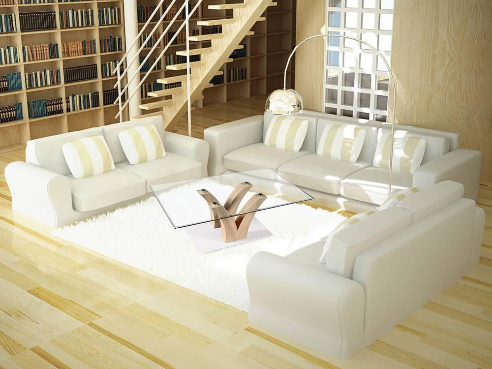parma couchtisch eiche sonoma glasplatte. Black Bedroom Furniture Sets. Home Design Ideas