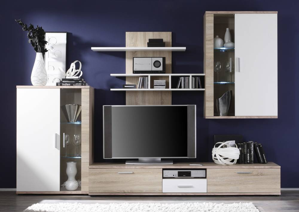 sonoma eiche wei m bel interessante ideen f r die gestaltung eines raumes in. Black Bedroom Furniture Sets. Home Design Ideas