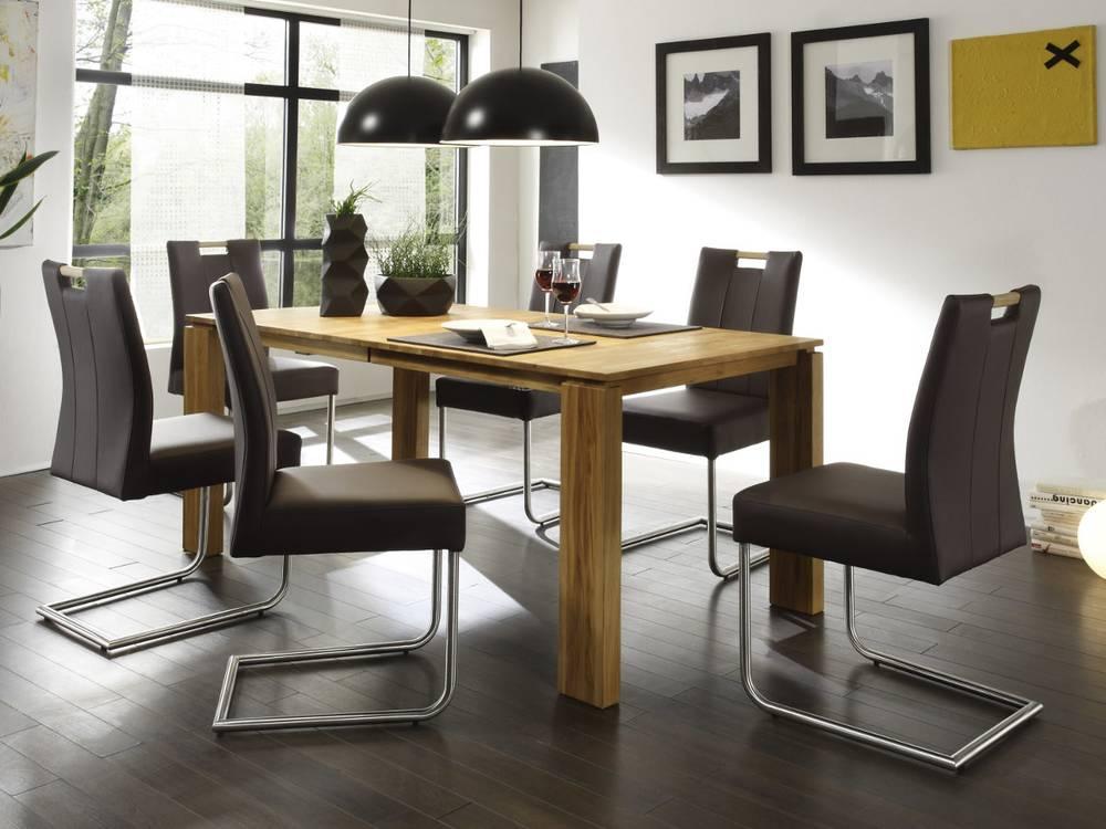 spider freischwinger esstischstuhl kunstleder oder. Black Bedroom Furniture Sets. Home Design Ideas