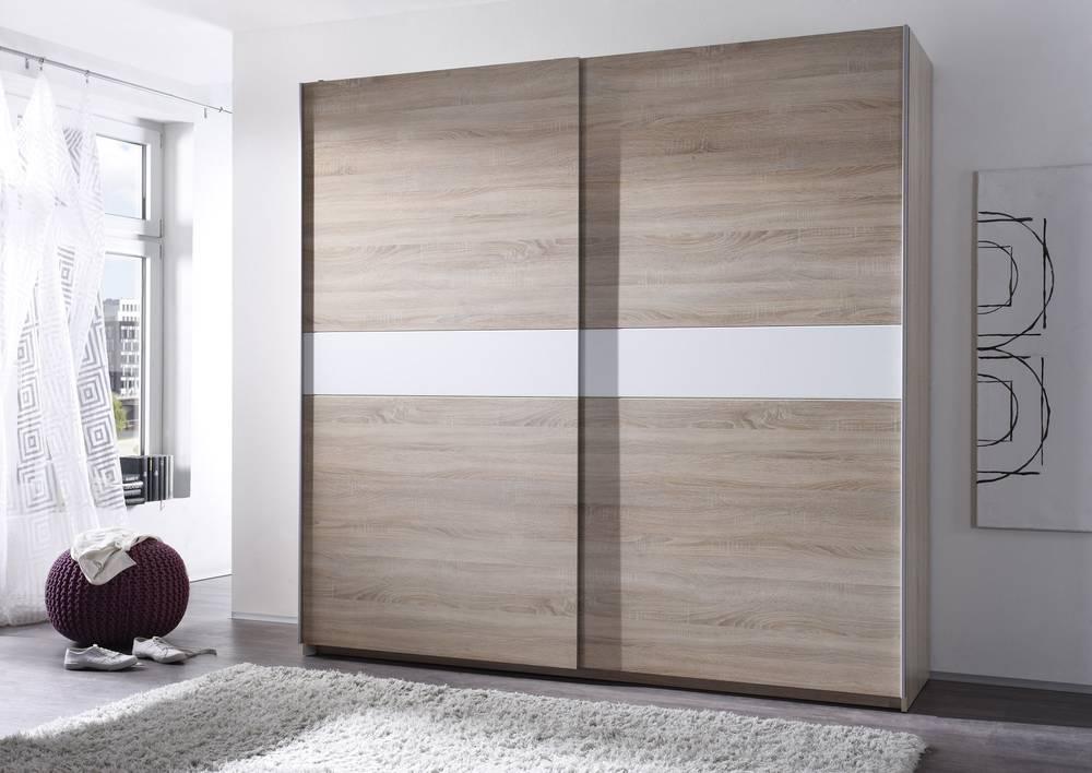 vanti komplettes schlafzimmer 4 teilig eiche sonoma wei. Black Bedroom Furniture Sets. Home Design Ideas
