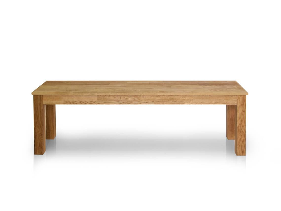 dalian sitzbank massivholzsitzbank eiche ge lt 140 cm. Black Bedroom Furniture Sets. Home Design Ideas