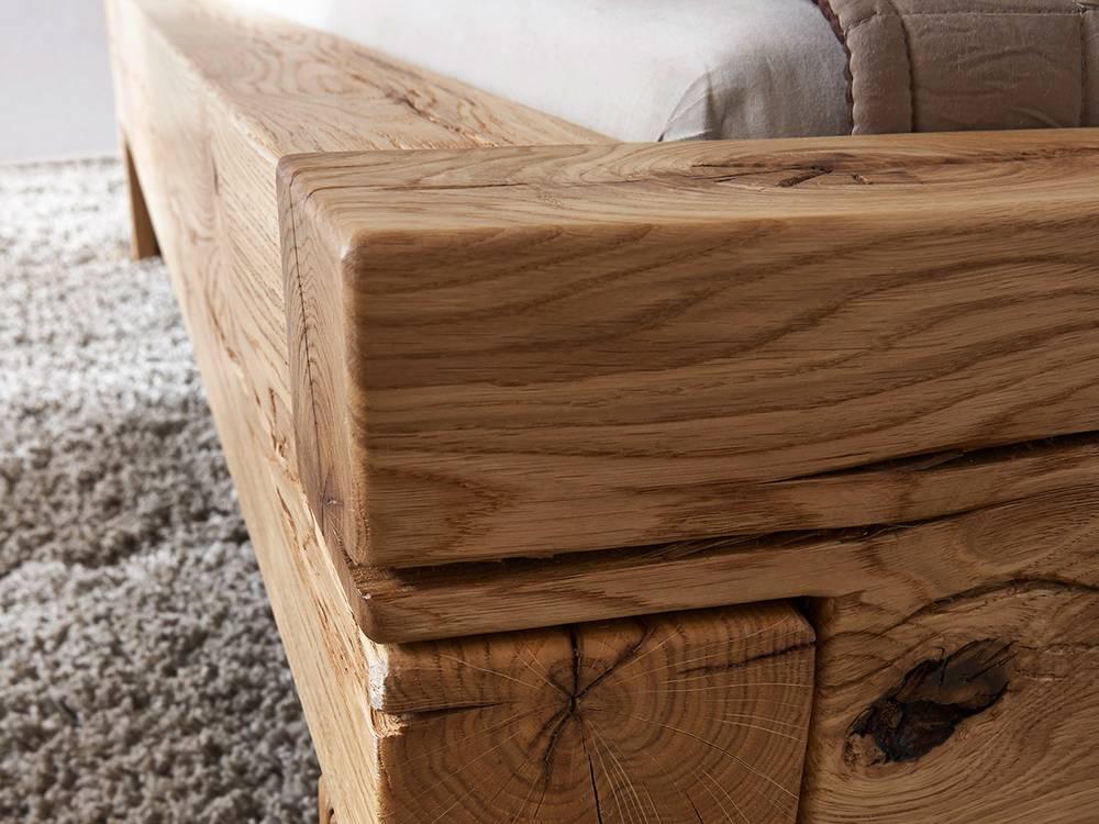 massivholzbett lias wildeiche ge lt 140 x 200 cm. Black Bedroom Furniture Sets. Home Design Ideas