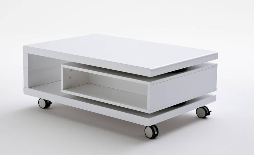 anneliese couchtisch mit rollen wei lack detail image 2. Black Bedroom Furniture Sets. Home Design Ideas