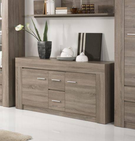 CAPA Sideboard 2 Türen+2 SK Eiche Sonoma dunkel DETAIL_IMAGE 3